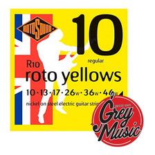Encordado Rotosound R10 Roto Yellows P/ Guitarra Elèctrica