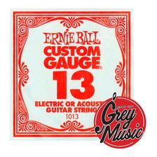 Cuerda Suelta 013 Ernie Ball 1013 Para Guitarra Electrica