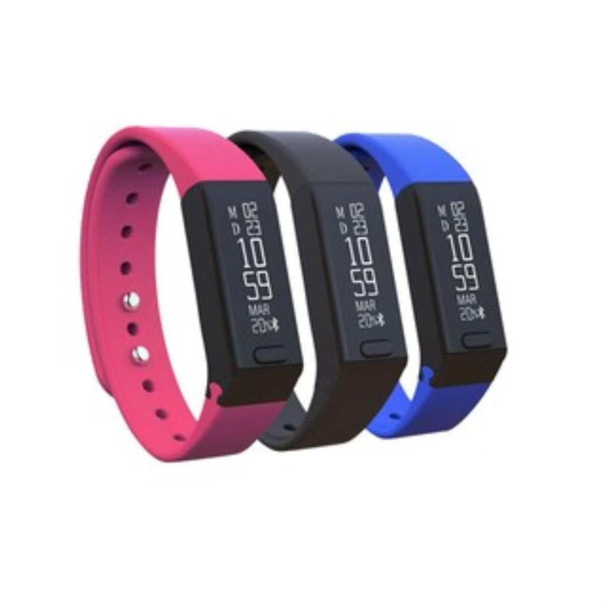 Smartband Pcbox Care 3 Mallas Boton Anti Panico Whatsapp Usb
