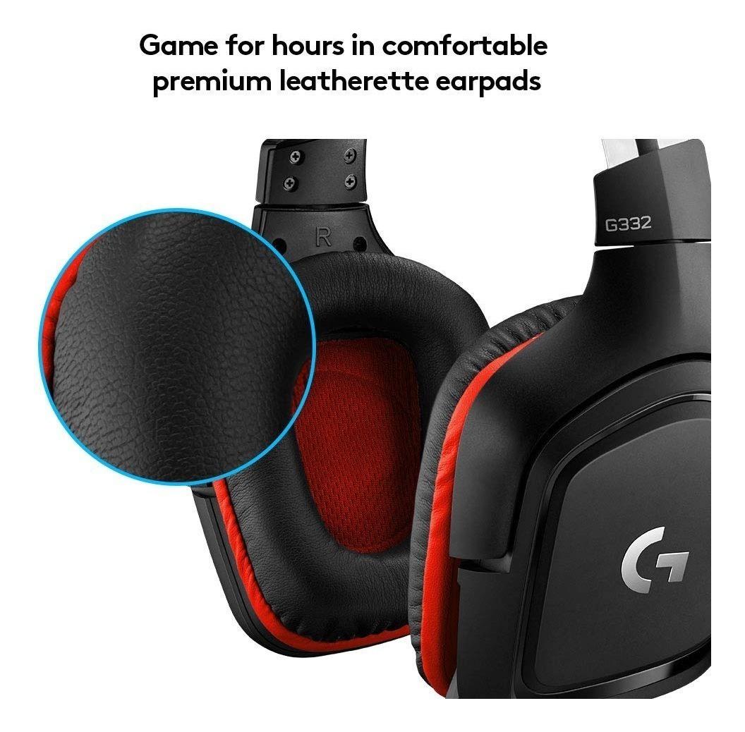 Auricular Logitech G332 Hero Gaming Pc Ps4 Headset Microfono