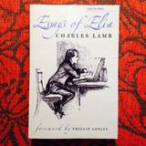 Charles Lamb.  ESSAYS OF ELIA.