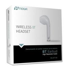 Auricular Bluetooth Headset Monoaural Con Microfono Celular