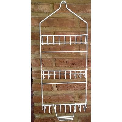 Organizador de ducha de alambre 3 estantes con jabonera for Organizador para ducha