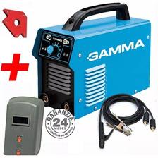 Soldadora Inverter 200 Amp Gamma Arc200 +mascara + Escuadras