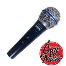 Microfono Lsc Bt58 Tipo Beta58 Con Funda  Pipeta Y Cable