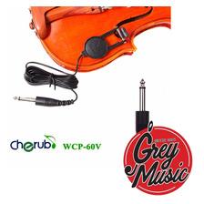 Micrófono Cherub De Contacto Para Violín  Wcp60v