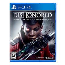 Dishonored Muerte Del Forastero | Ps4 | Fisico Sellado Nuevo Original