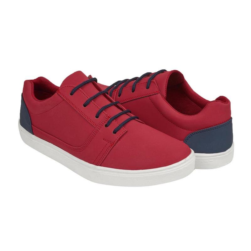Sneakers rojo con azul  018866