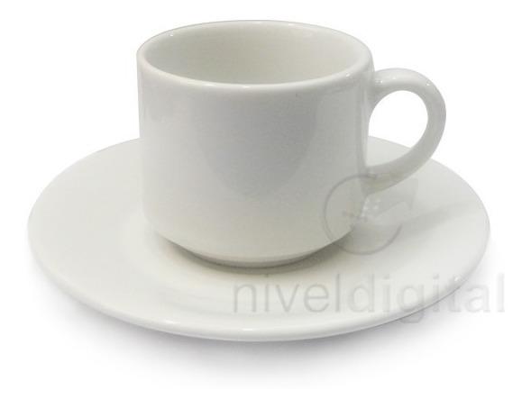 Taza Con Plato 200 Ml Loza Biona Desayuno Te Cafe Bar Resto