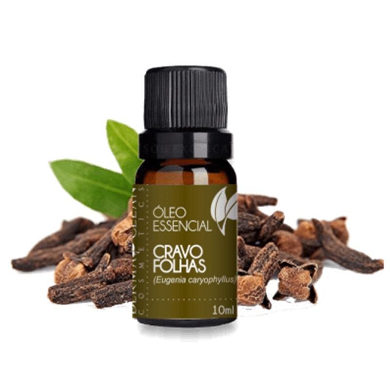 Oleo Essencial de Cravo Folhas - 10ml - DermaClean