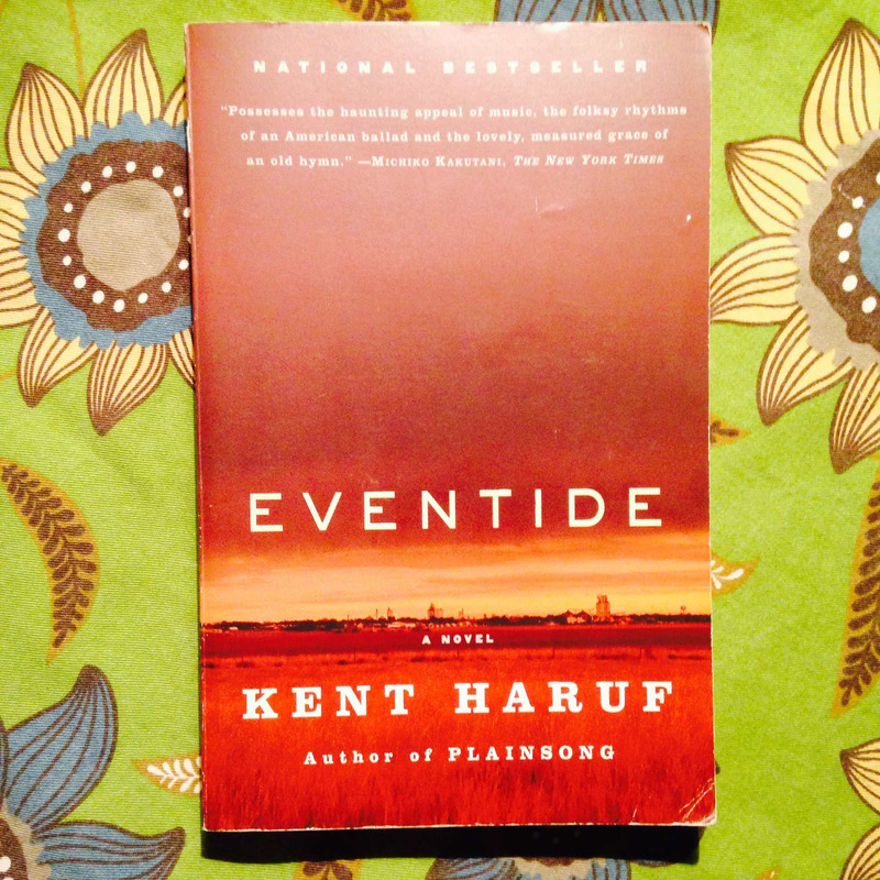 Kent Haruf.  EVENTIDE.