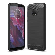Funda Tpu Simil Carbono Moto G5s G6 Plus Play + Envio Gratis