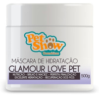 Máscara de Hidratação Glamour Love Pet - 500 gr