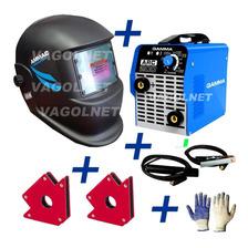 Combo Soldadora Inverter Gamma 200 + Mascara Fotosensible