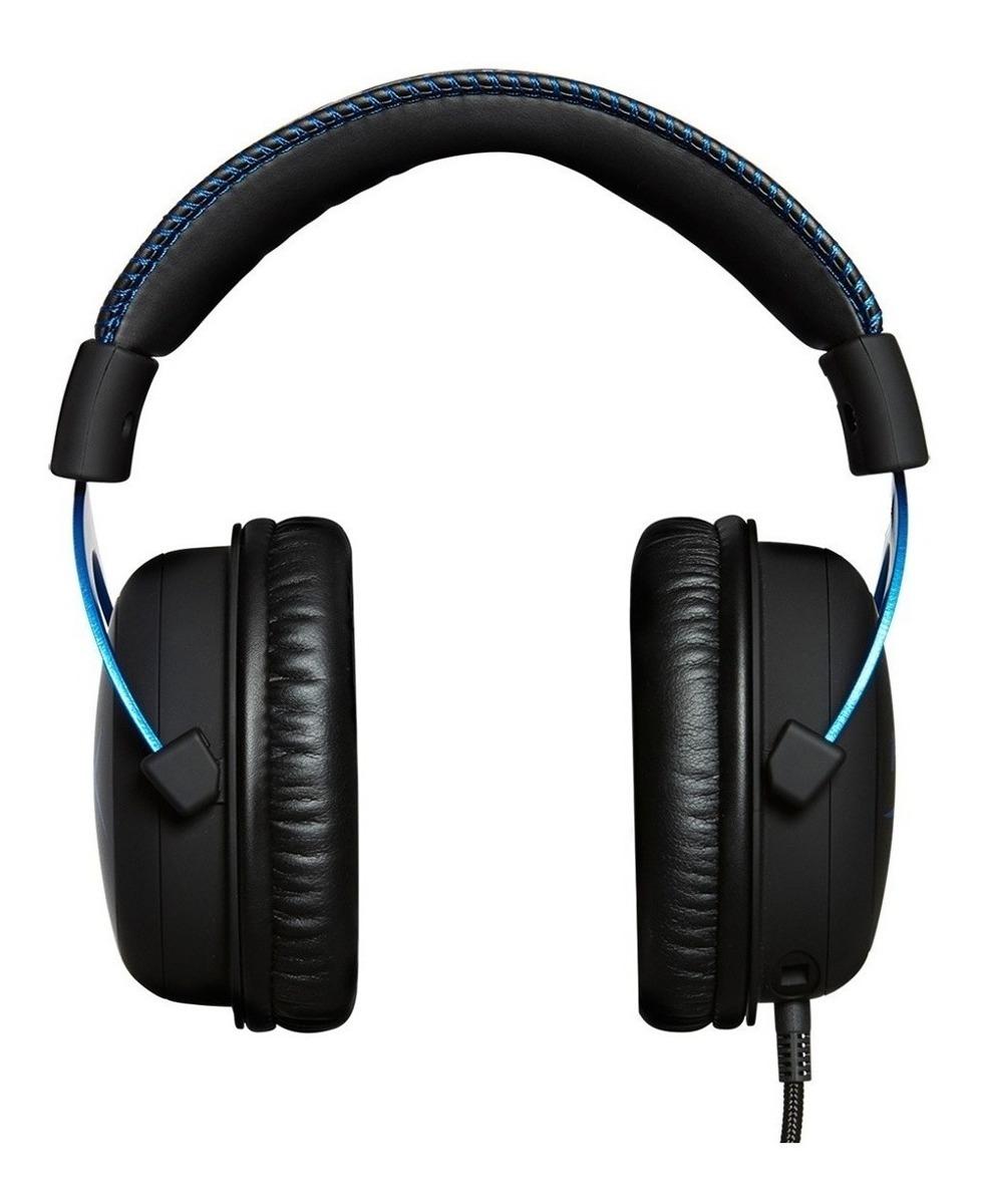 Auriculares Headset Gamer Hyperx Cloud Sony Ps4 Licencia Oficial Gtia