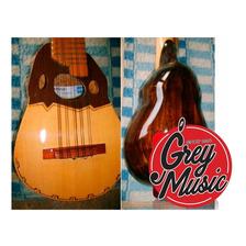 Charango Artesanal Coro N°4 Caja De Madera - Grey Music -