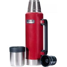 Termo Stanley Clasico 1 Litro Cebador Original Garantía Rojo