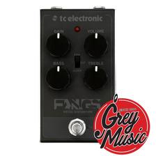 Pedal Tc Electronic Fangs Metal Distorsion - Grey Music -