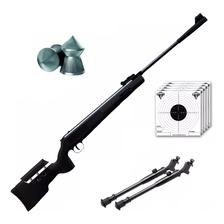 Rifle Aire Comprimido Fox Nitro Magnum Black + Bipode Cuotas
