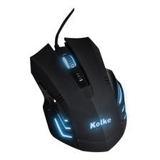 Mouse Gamer Zetta Retroiluminado Multicolor 2000 Dpi 6 Botones Kgm-256 Kolke
