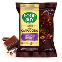 Brownie Soja, Chocolate e Capuccino Sem Gluten 40g GoodSoy