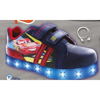 Sneakers Cars marino con luces T03508