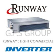 Aire Acondicionado Baja Silueta Runway 9000 Inverter F/c 3tr