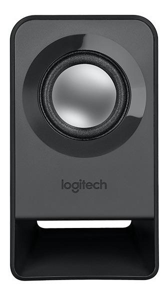 Parlantes Logitech Z211 2.1 Usb Subwoofer Pc Notebook Tv Aux