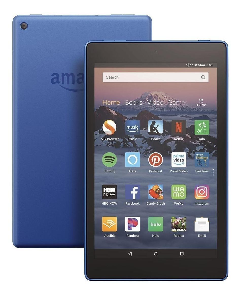 Tablet Amazon Fire Hd 8 Kfkawi 8  32gb Marine Blue Con Memoria Ram 1.5gb