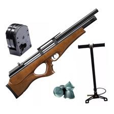 Rifle Aire Comprimido Fox Pcp P10 Bullpup Regulado Inflador