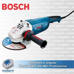 Amoladora angular Bosch GWS 26-180 26...