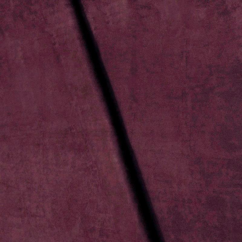 Suede lisa roxa aubergine Coleção New York IV