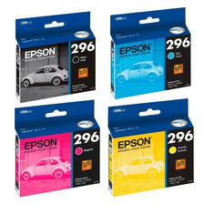 Cartuchos Epson 296 Original Xp231 431 Combo X4 Powerzon