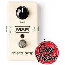 Pedal De Efectos Mxr M133 Micro Amp (m-133) - Grey Music -
