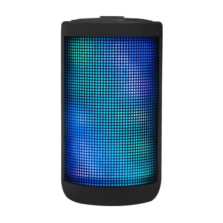 Parlante Bluetooth Portatil Recargable Luces Led Star Noga