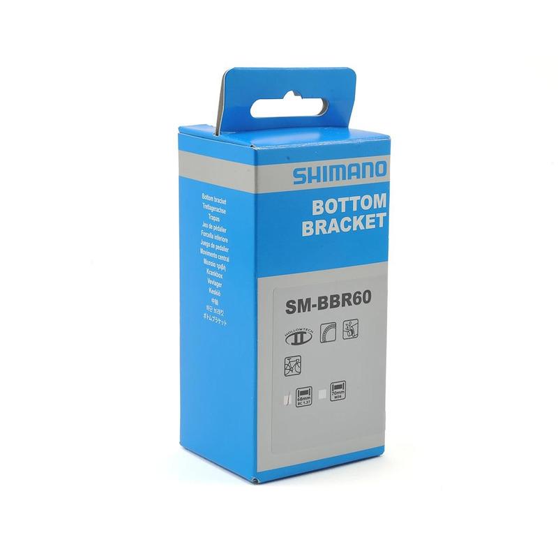 MOVIMENTO CENTRAL SHIMANO 105 / ULTEGRA SM-BBR60 - HOLLOWTECH / INTEGRADO  R7000 / R8000 / 5800 / 6800