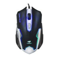 MOUSE GAME USB C3TECH MG-11BSI PRETO PRATA