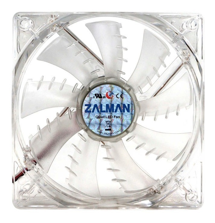 Cooler Fan Zalman Zm-f3 120 Led Azul Ultra Quiet Silencioso