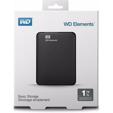 Disco Externo Wd Elements 1 Tb