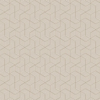 Tecido para parede Cubos - impermeabilizado - Coleção Mônaco