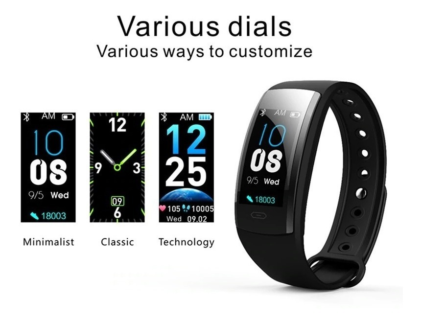 Reloj Inteligente Smart Band Watch Qs90 Plus Sport + Cuotas
