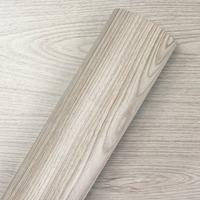 Adesivo para parede madeira carvalho Larg. 1,22m