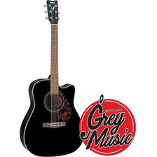 Guitarra Electroacústica Yamaha Fx370cbl Serie Folk Negro