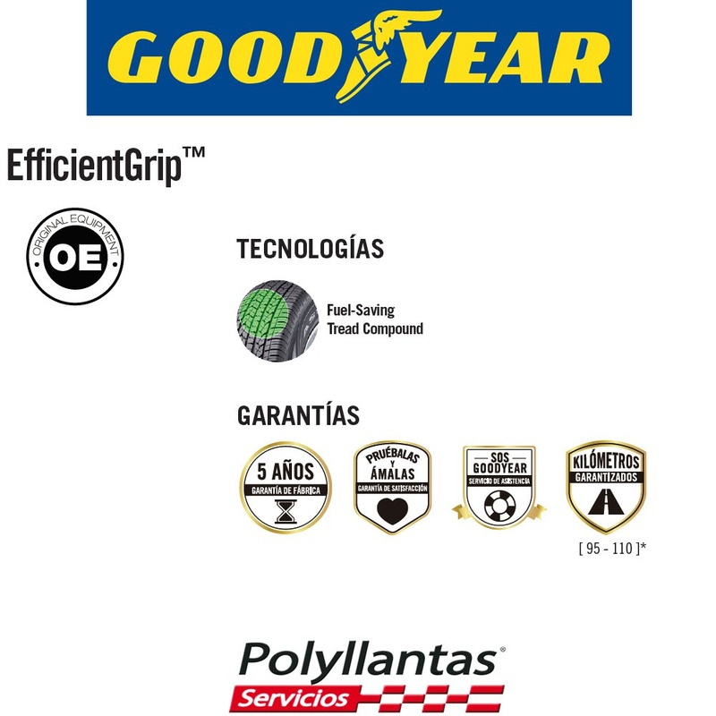 235-45 R17 GOODYEAR EFFICIENTGRIP  SAGY