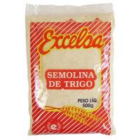 Semolina de Trigo - 500g - Excelsa