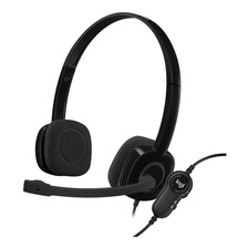 Auriculares Headset Logitech H151 Microfono 3 5mm Pc Skype
