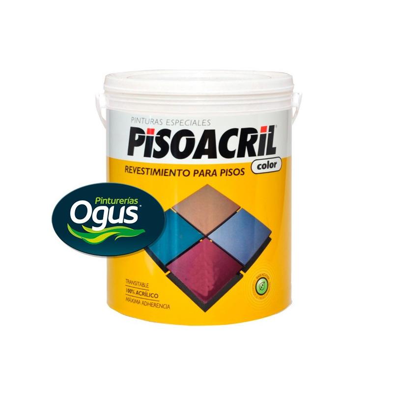 Pisoacril Revest. Acrilico Para Pisos X 20 Lt Ogus