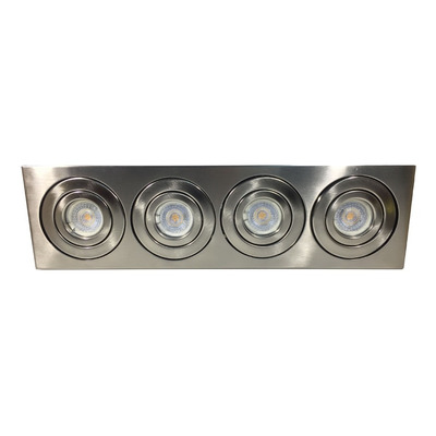 Aplique Dicroled Plafon 4814 Lineal 4 Luces Direccionable
