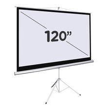 Pantalla Para Proyector 120 Pulgadas Con Tripode Garantia