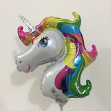 globo unicornio 35cm NO apto helio
